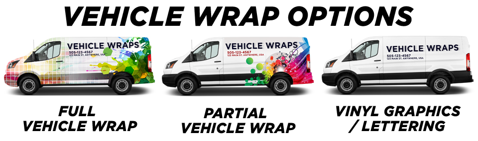 St. Petersburg Vehicle Wraps vehicle wrap options